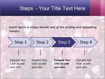 Natural amethyst PowerPoint Template - Slide 4