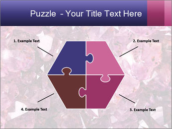 Natural amethyst PowerPoint Template - Slide 40