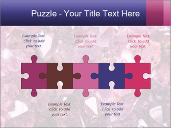 Natural amethyst PowerPoint Template - Slide 41