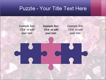 Natural amethyst PowerPoint Template - Slide 42