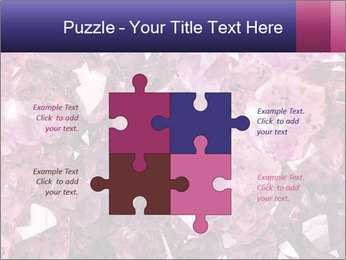 Natural amethyst PowerPoint Template - Slide 43