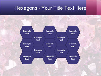 Natural amethyst PowerPoint Template - Slide 44