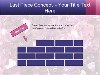 Natural amethyst PowerPoint Template - Slide 46