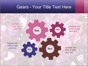 Natural amethyst PowerPoint Template - Slide 47