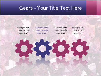 Natural amethyst PowerPoint Template - Slide 48