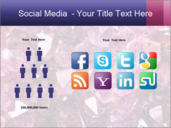 Natural amethyst PowerPoint Template - Slide 5