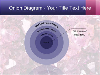 Natural amethyst PowerPoint Template - Slide 61