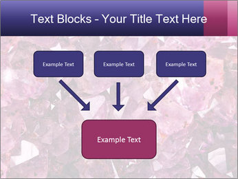 Natural amethyst PowerPoint Template - Slide 70