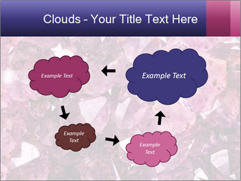 Natural amethyst PowerPoint Template - Slide 72