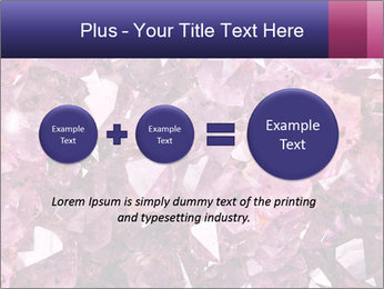 Natural amethyst PowerPoint Template - Slide 75