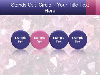 Natural amethyst PowerPoint Template - Slide 76