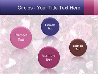 Natural amethyst PowerPoint Template - Slide 77