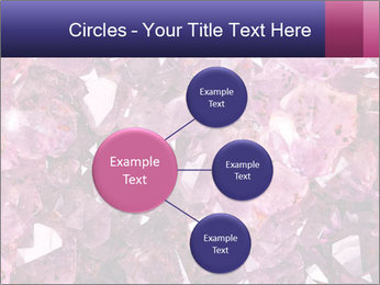 Natural amethyst PowerPoint Template - Slide 79