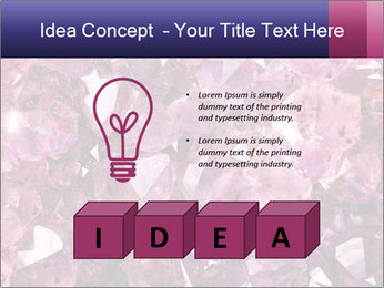Natural amethyst PowerPoint Template - Slide 80