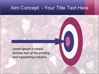 Natural amethyst PowerPoint Template - Slide 83