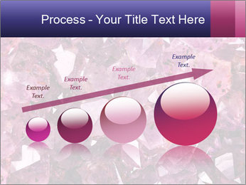 Natural amethyst PowerPoint Template - Slide 87