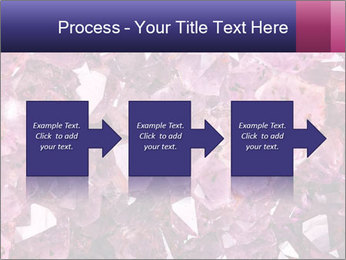 Natural amethyst PowerPoint Template - Slide 88