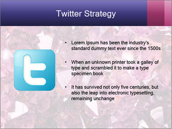 Natural amethyst PowerPoint Template - Slide 9
