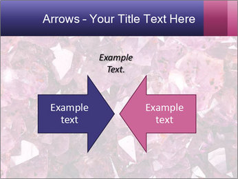 Natural amethyst PowerPoint Template - Slide 90