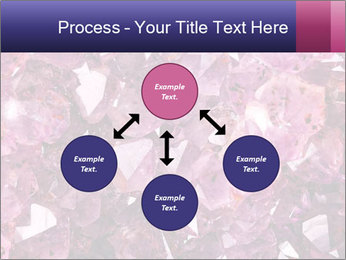 Natural amethyst PowerPoint Template - Slide 91
