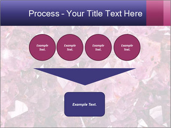 Natural amethyst PowerPoint Template - Slide 93