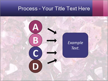 Natural amethyst PowerPoint Template - Slide 94