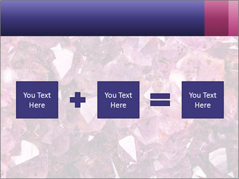 Natural amethyst PowerPoint Template - Slide 95