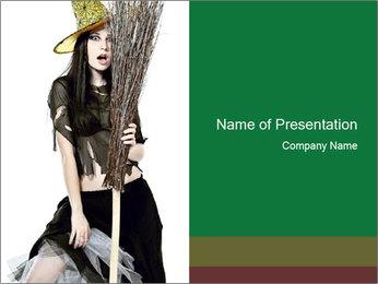 Halloween PowerPoint Templates - Slide 1