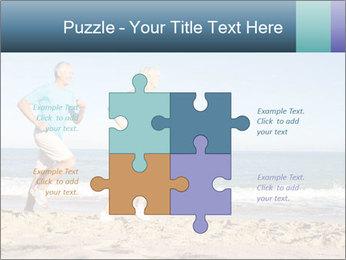 Senior Couple PowerPoint Templates - Slide 43