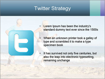 Senior Couple PowerPoint Templates - Slide 9