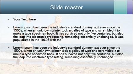 Senior Couple PowerPoint Template - Slide 2