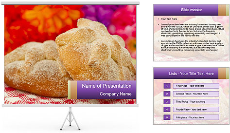 Mexican Day PowerPoint Template