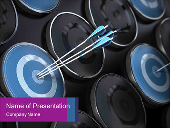 Hit the target PowerPoint Template