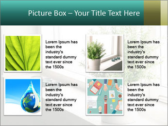 Home flower PowerPoint Template - Slide 14