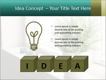 Home flower PowerPoint Template - Slide 80