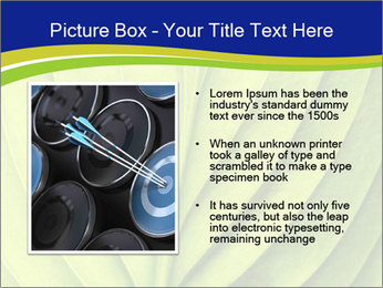 Leaf close-up PowerPoint Template - Slide 13