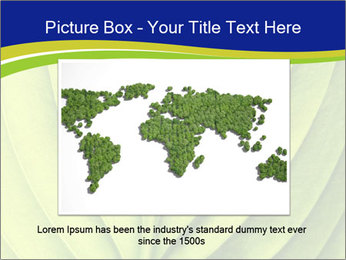 Leaf close-up PowerPoint Template - Slide 16