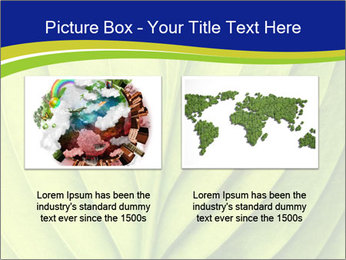 Leaf close-up PowerPoint Template - Slide 18