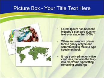 Leaf close-up PowerPoint Template - Slide 20