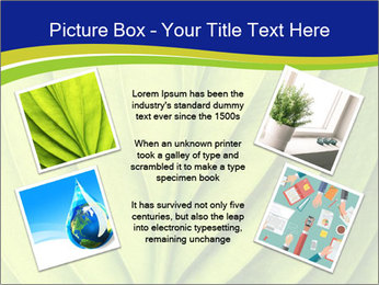 Leaf close-up PowerPoint Template - Slide 24