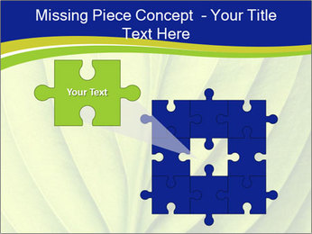 Leaf close-up PowerPoint Template - Slide 45