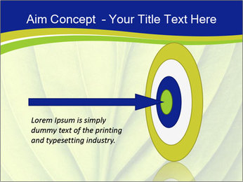 Leaf close-up PowerPoint Template - Slide 83
