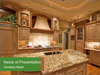 Beautiful Kitchen PowerPoint Template - Slide 1