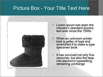 Sheepskin boot PowerPoint Template - Slide 13