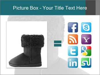 Sheepskin boot PowerPoint Template - Slide 21
