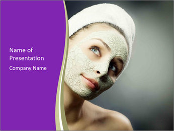 Spa Mask PowerPoint Template