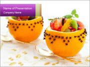Fruit salad PowerPoint Templates