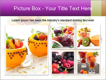 Fruit salad PowerPoint Templates - Slide 19