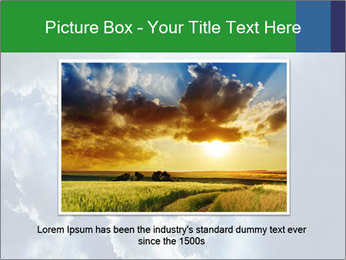 Bright sun PowerPoint Template - Slide 16