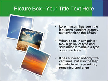 Bright sun PowerPoint Template - Slide 17